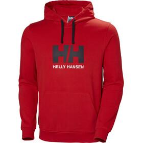 Helly Hansen HH Logo Hoodie Herre flag red